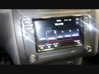 Установка магнитолы и камеры заднего вида на Фольксваген в Авто Ателье АврорА