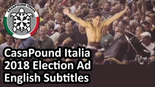 Powerful video about Italy's demographic + identity crisis by CasaPound's Simone Di Stefano English