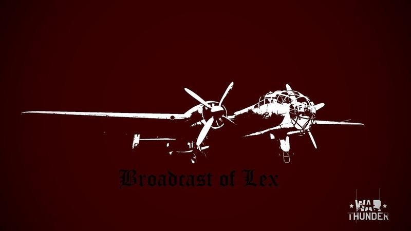 War Thunder Broadcast. Ястребы Люфтваффе. Часть 3.