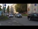 Уважаемые водители! При проезде перекрестков с левым поворотом на дорогах с 2мя полосами движения занимайте заранее крайнее лево