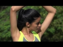 4k Fit Girl Stretching Healthy Lifestyle