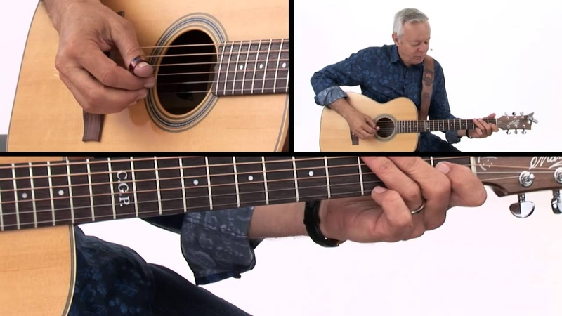 Tommy Emmanuel Guitar Lesson Classic Fingerstyle Licks Demo