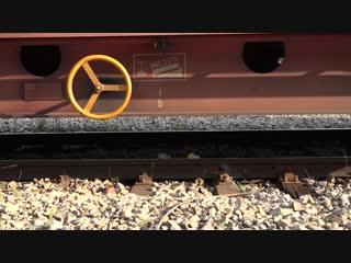 Huge trains masses on bad rail joints - Sweet sounds of bad rails - Belgrade Rak