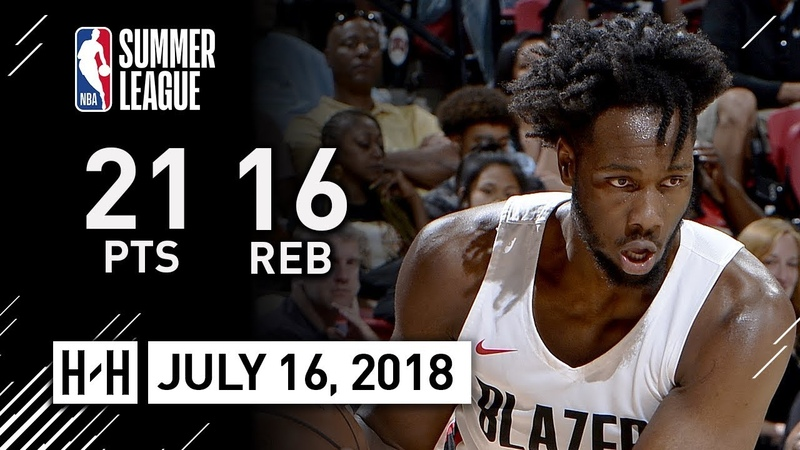 Caleb Swanigan Full Highlights vs Grizzlies (2018.07.16) NBA Summer League - 21 Pts, 16 Reb, 2 Ast