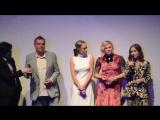 2018.09.06 Isabelle Huppert thinks horror is hilarious Greta TIFF TIFF18 NeilJordan
