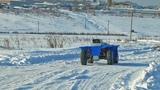Внедорожный робот SRX3 зимний маршрут