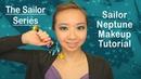 Sailor Moon Series Sailor Neptune Makeup Tutorial AskAshley