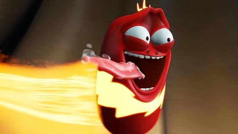 LARVA - Super Vermelho | 2018 Filme completo | Dos desenhos animados | Cartoons Para Crianças