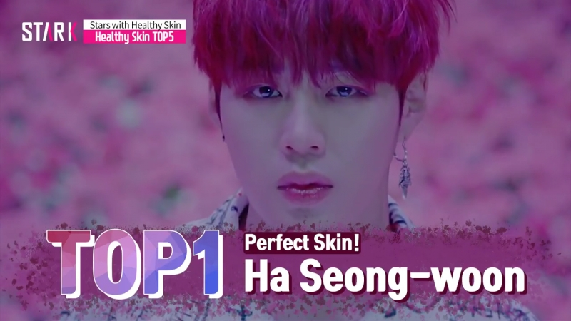 {rus sub} top5 stars with healthy skin