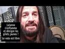 Francis Lalanne insulte les Gilets Jaunes et les Citoyens