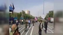 Terrorists attack a military parade in Ahvaz southwestern Iran