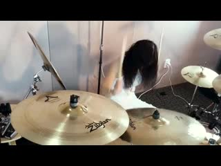 Slayer - angel of death drum cover by ami kim (#22)
