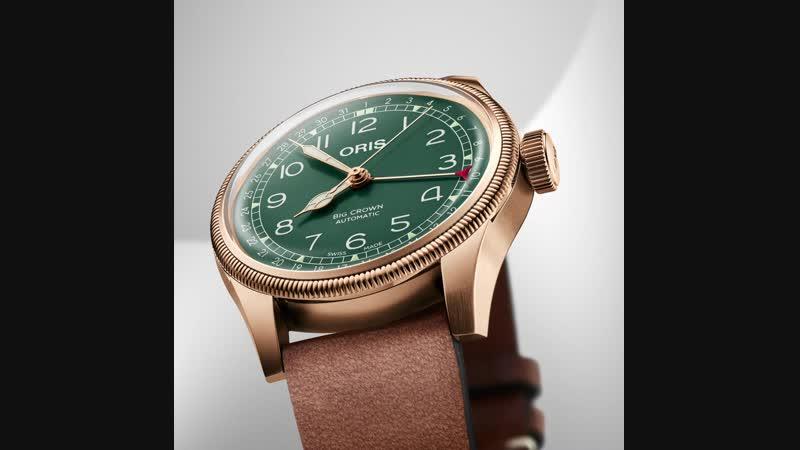 Новые часы Oris Big Crown Pointer Date 80th Anniversary Edition.