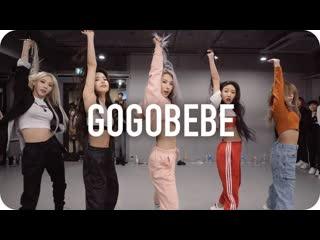 1million dance studio gogobebe mamamoo / mina myoung choreography with mamamoo