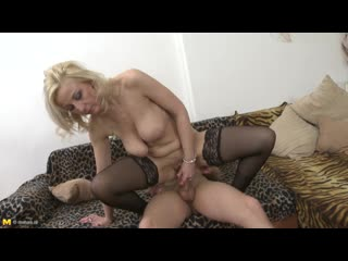 Brenda b. (39) - sexy milf brenda shows off her saggy boobs and gets fucked by her toyboy