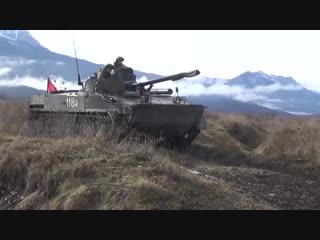 Стрельба из вооружения БМП-3