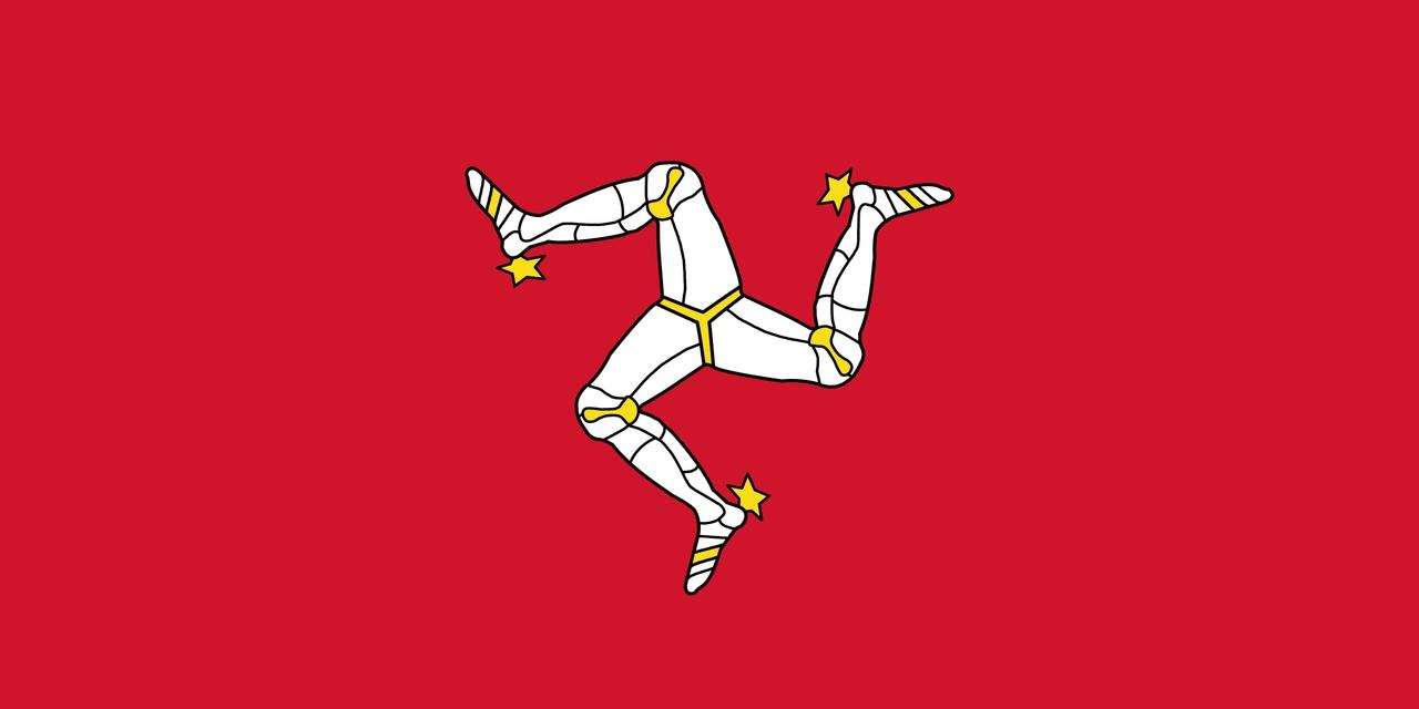 Флаг Остров Мэн
