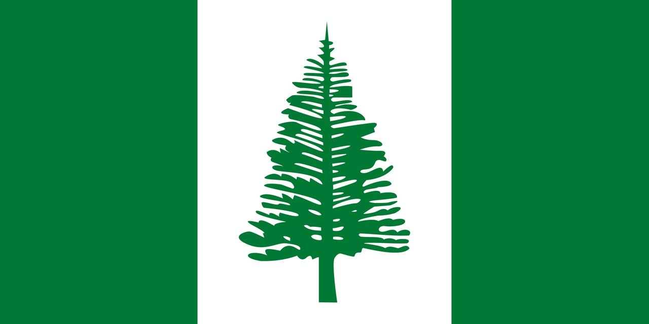 Флаг Остров Норфолк