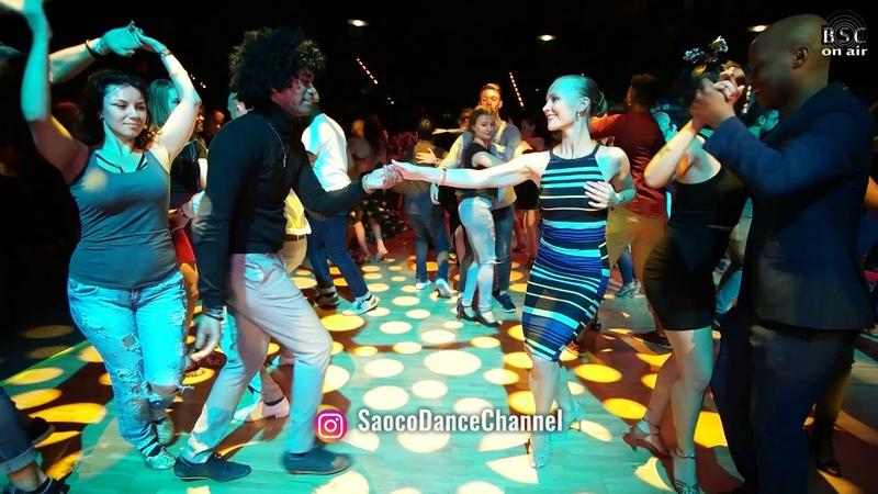 Nino Nader and Viktoriya Klimenko Salsa Dancing at Berlin Salsacongress 2018, Saturday 06.10.2018