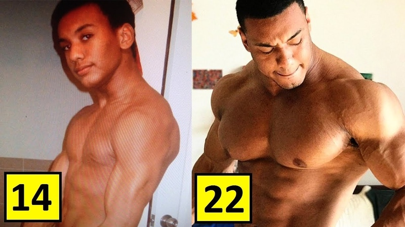 Larry Wheels Williams Transformation | From 14 To 23 Years Old