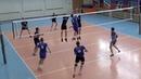 Волейбол. Лучшие нападающие удары игроками первого темпа