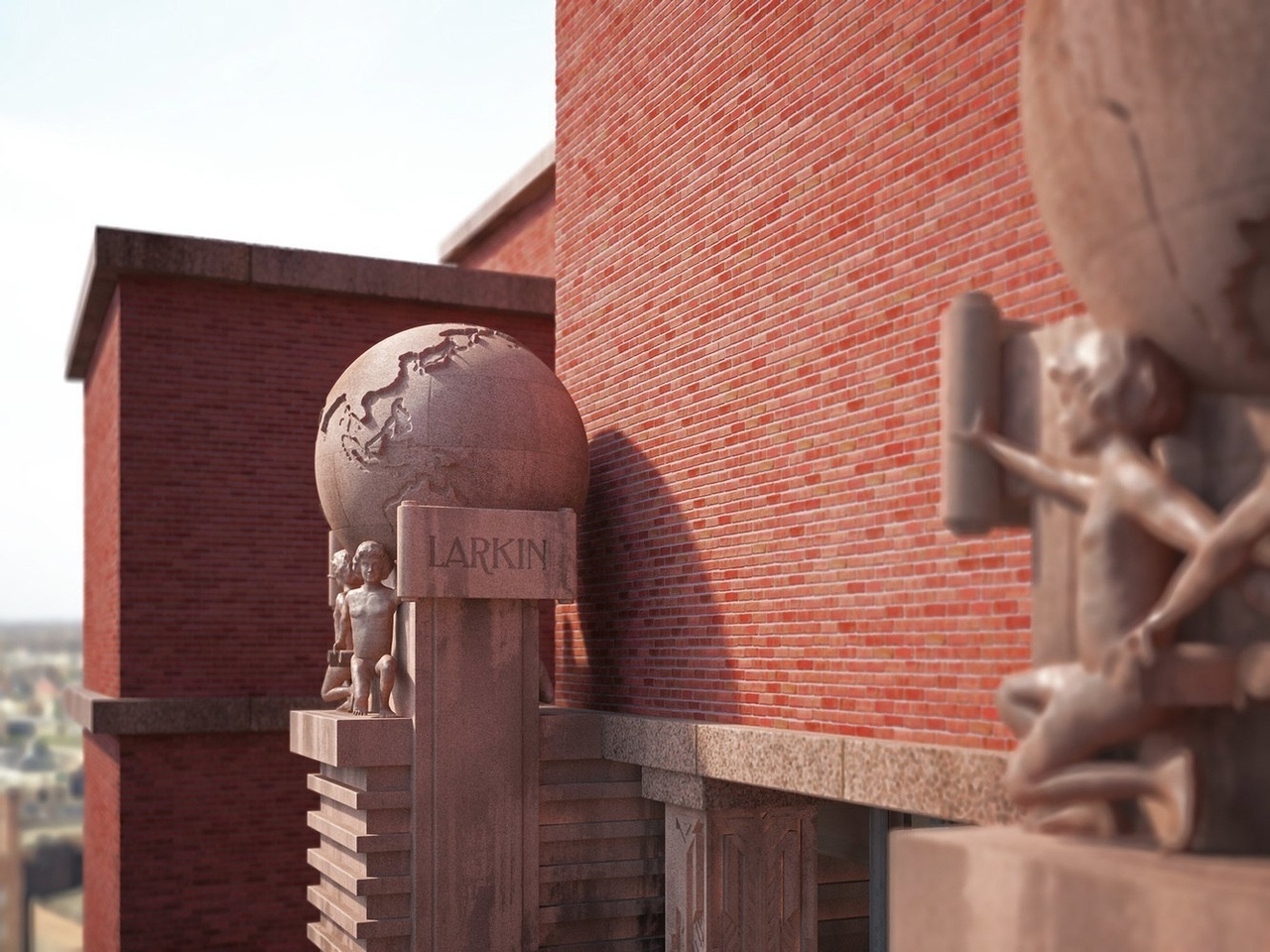See Frank Lloyd Wright's Missing Works Recreated in Photorealistic Renders