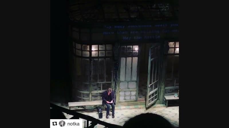 Спектакль «Бродский / Барышников» Прощай, позабудь и не обессудь.