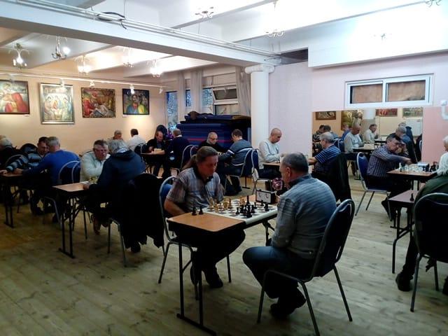 """шахматный турнир в клубе """"Сфера"""""""