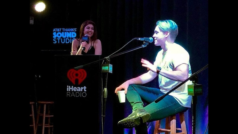Jesse McCartney Demonstrates His Chipmunks Voice, Performs Beautiful Soul | Brooke Morrison