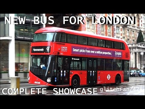 London United New Bus For London Complete Showcase