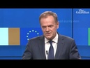 Donald Tusk 'special place in hell' for those who promoted Brexit without plan