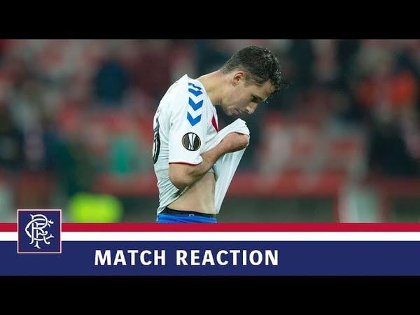 REACTION Nikola Katic Spartak Moscow 4 3 Rangers