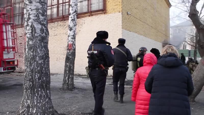 Содействие в ликвидации возгорания в шк №93, г. Екатеринбург
