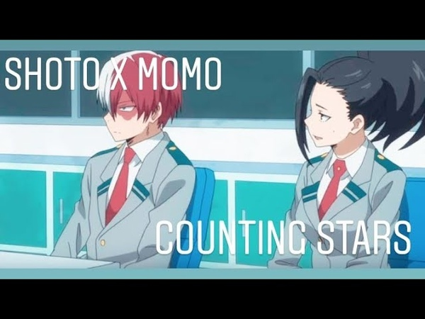 Shoto Todoroki X Momo Yaoyorozu AMV Counting Stars (Nightcore)