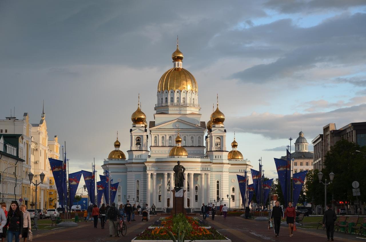 IEl2cwGl66o Саранск достопримечательности и история.