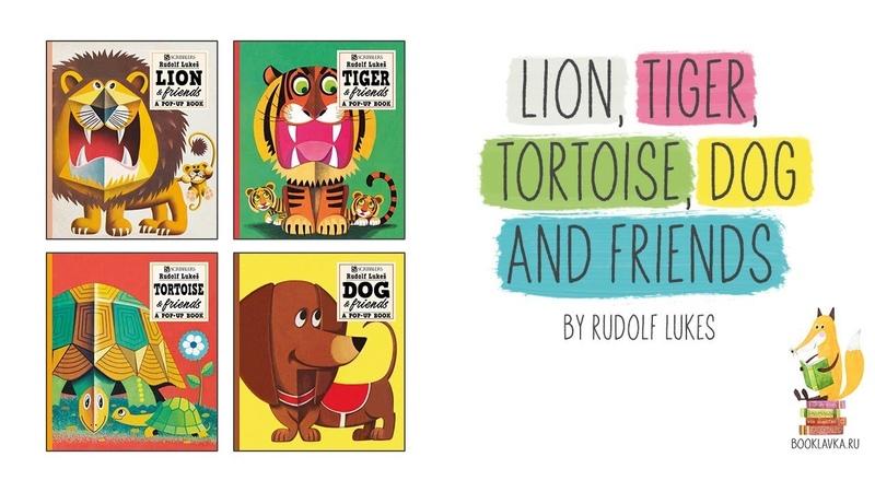 A Dog a Lion a Tiger a Tortoise and Friends Pop Up Books