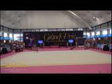 Александра Солдатова обруч(финал) Гран-при Марбелья 2019