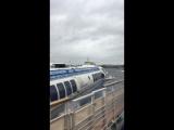 Крайний рейс нашего метеора!До встречи на следующей навигации!!!!💕