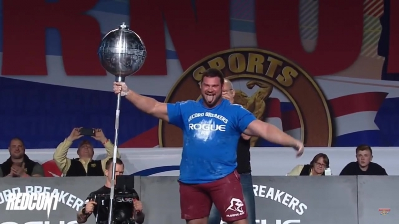Martins Licis Steinborn Rockover Squat World Record 560lbs Arnold Strongman Clas