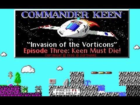 Commander Keen 3 Keen Must Die! [MS-DOS] (1990). Стрим 2 - Продолжение мучений