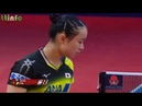 ITO Mima 伊藤美誠 vs ZHU Yuling 朱雨玲 SWEDISH OPEN 2018 table tennis