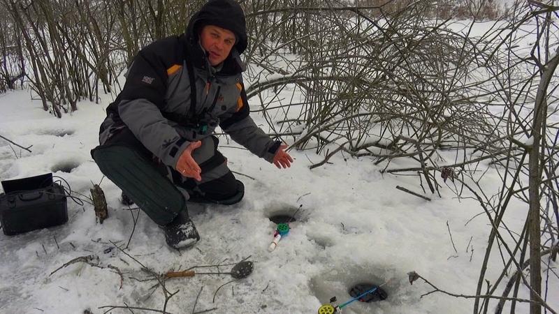 Карась показывает ФИГУ в подводную камеру! Зимняя рыбалка в дремучем коряжнике на болоте!