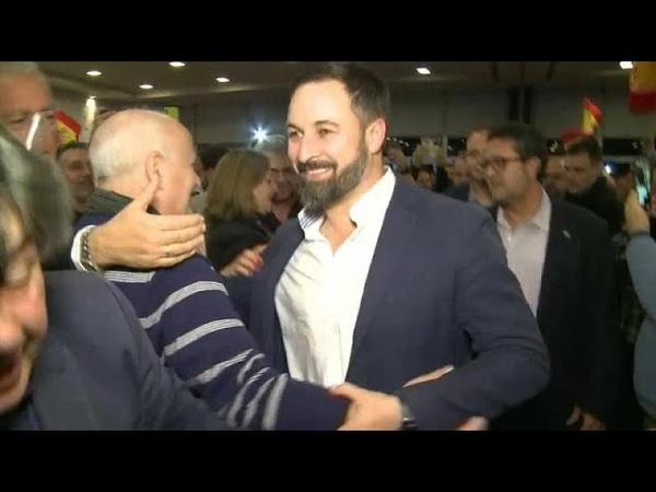En Espagne, l'extrême droite entre au parlement régional d'Andalousie