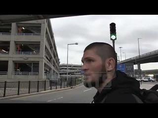ХАБИБ НУРМАГОМЕДОВ ПЕРЕД ПРЕСС КОНФЕРЕНЦИЕЙ C КОНОРОМ UFC 229