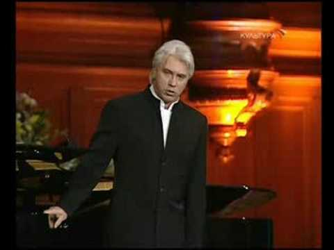 Dmitri Hvorostovsky - Frenzied Nights (Tchaikovsky)