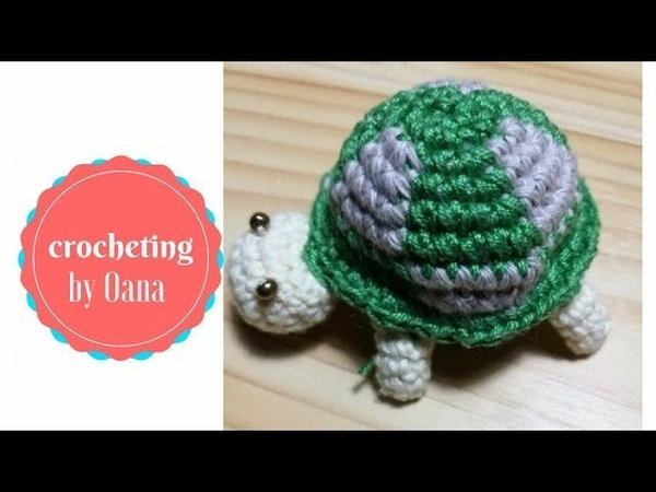 Crochet Turtle amigurumi by Oana