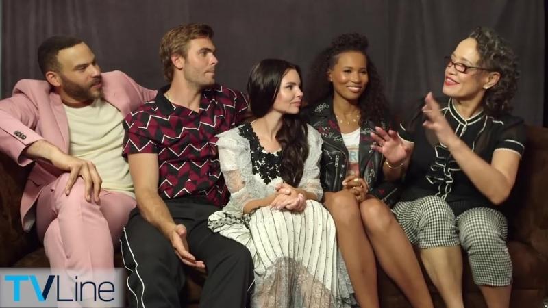 Siren Cast Interview - Comic-Con 2018 - TVLine