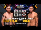 UFC_FN_135 Justin Gaethje  vs.  James Vick