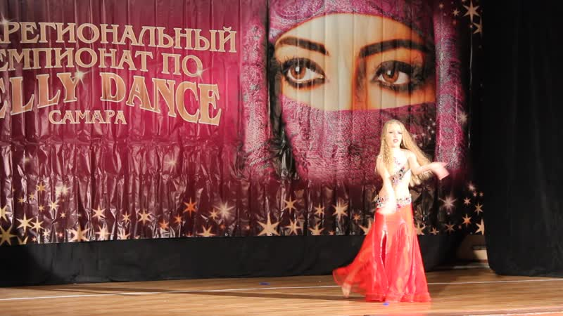 Виктория Глухова 8 лет импровизация CD дети 1 продолжающие 3 место Чемпионат belly dance в Самаре
