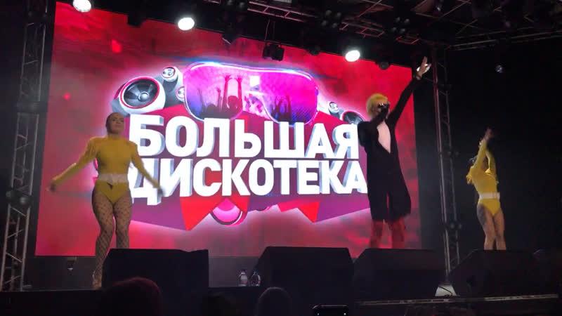 Гарик Богомазов (Экс солист Отпетые Мошенники ) на большой дискотеке в М33